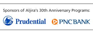 PNC and Prudential sponsor Aljira's 30th Anniversary programs