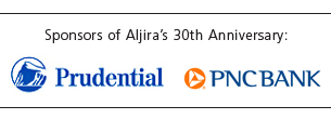 Aljira 30th Anniversary Sponsors